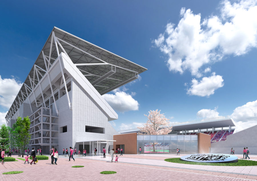 桜スタジアムプロジェクト 2021年3月完成予定